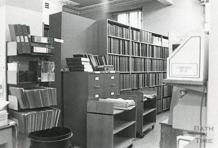 Reference Library, Queen Square March, 1990 prior to move to Podium
