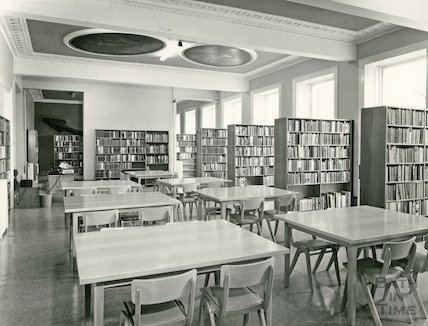 Bath Reference Library, Queen Square, 1964