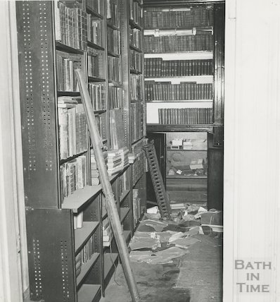 Bath Reference Library, Queen Square, 1960