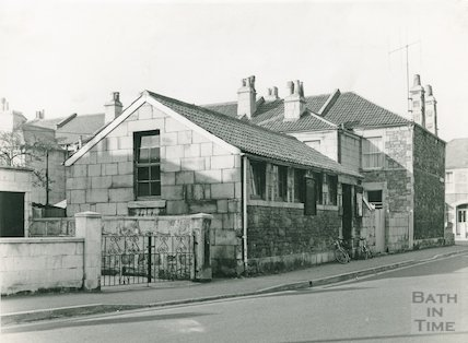 Moorland Road Branch before conversion February, 1961