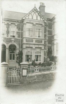 L'Allegro, 27 Milton Avenue, Bath, c.1910