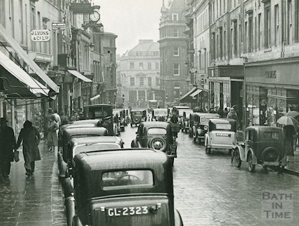 Union Street, Bath looking south, c.1925?