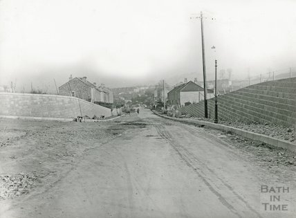 The junction of Mount Road and Englishcombe Lane, Bath, c.1931