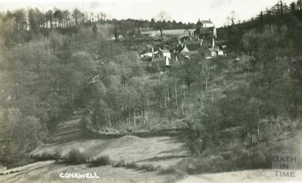 View of Conkwell, near Bath c.1910