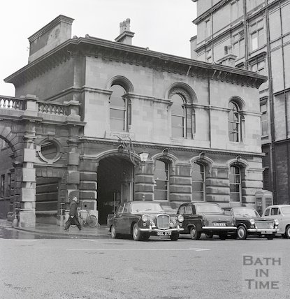 Bath Police Station, Orange Grove, Bath, 16 January 1964