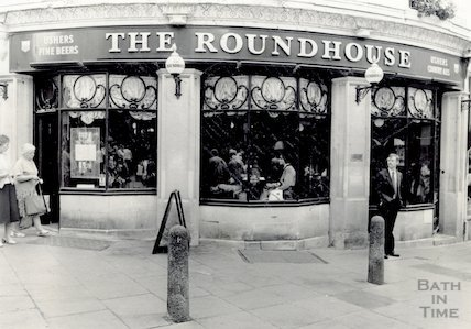The Roundhouse, Stall Street, Bath, 11 August 1988