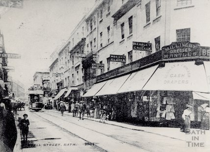 Stall Street looking north, c.1910