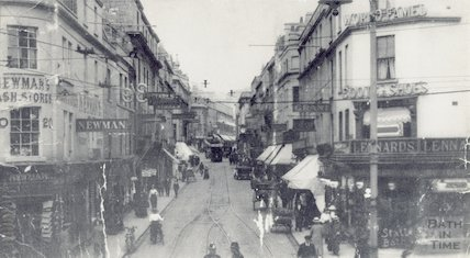 A early view up Stall Street, c.1910