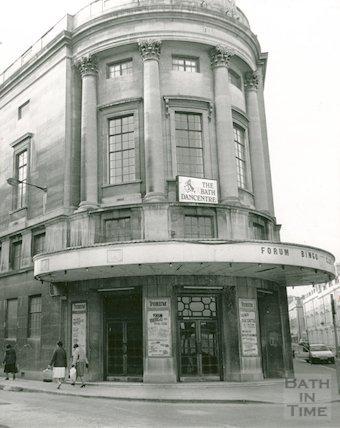 The Bath Dance Centre, The Forum, c.1986