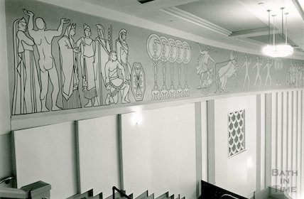 The Roman Frieze, the Forum, 21 January 1991