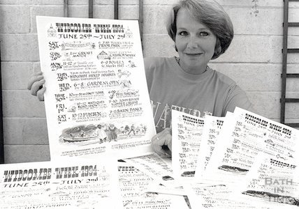 Promoting the Widcombe Week, June 25-July 2, 1994