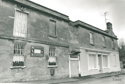 The Old Bakery, Freshford, prior to renovation, 23 January 1993