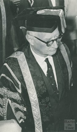 Sir James Pitman, 20 July 1970