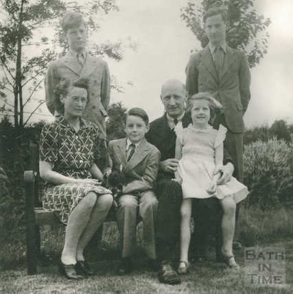 Sir James Pitman and family, c.1950s
