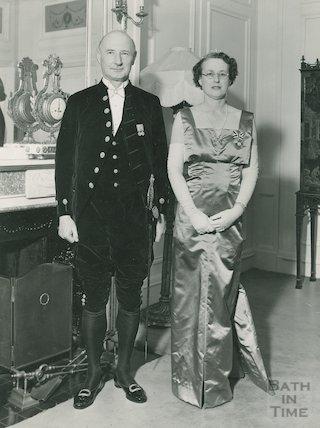 Mr & Mrs James Pitman aka Sir Isaac MP and Lady Pitman, c.1960s