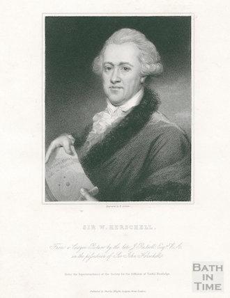 Portrait of Sir William Herschel (1738 - 1822)
