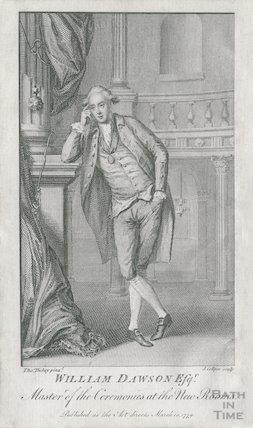 Portrait of William Dawson Esq, Master of Ceremonies at the New Rooms, Bath, 1779
