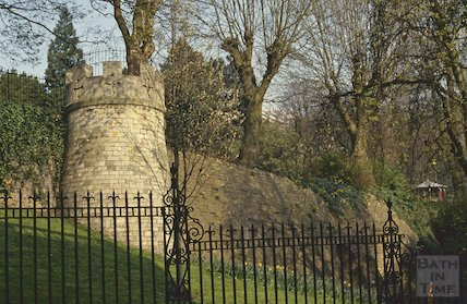 Tower, Hedgemead Park, April 1992