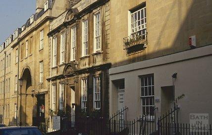 General Wolfe's House, Trim Street, Bath, April 1992