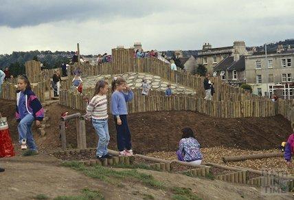 Royal Victoria Park, play area, May 1992