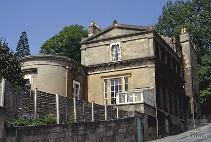 Rear elevation of Doric House, Sion Hill, May 1992