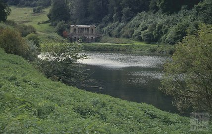 The Palladian Bridge, Prior Park, Bath, September 1992