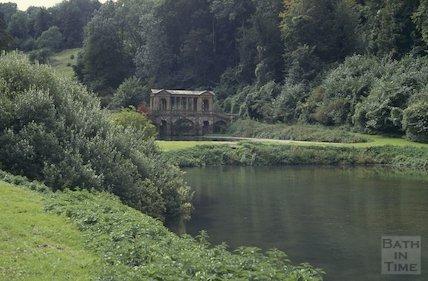 The Palladian Bridge, Prior Park, Bath, September 1992