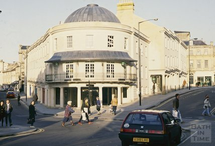 Seven Dials, Sawclose, Bath, January 1993