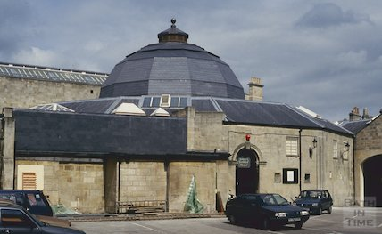 Renovated dome, Guildhall Market, Bath, May 1993