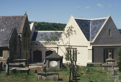 New Extension, Bathampton Church, May 1993