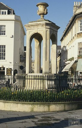 The Mineral Water Fountain, Terrace Walk, March 1994