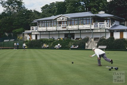 New pavilion and bowls club, Royal Victoria Park, June 1994