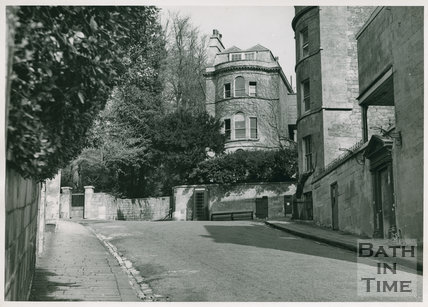 Somerset House on Sion Hill, Bath.