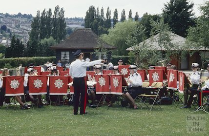 Fire Brigade Band, Alice Park, July 1994