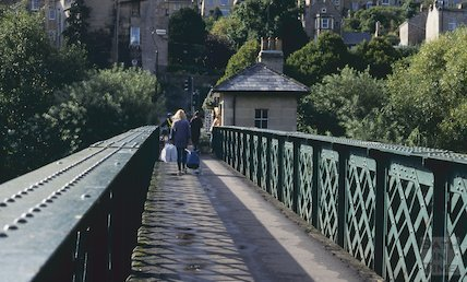 Halfpenny Bridge, Widcombe, September 1994