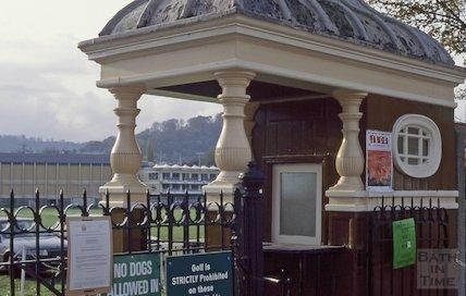 Turnstile, Bath Recreation Ground, November 1994