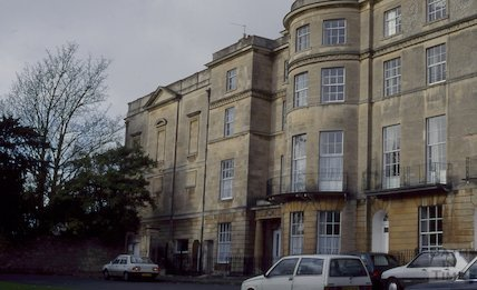 Summerhill House, Sion Hill Place, Bath, December 1994