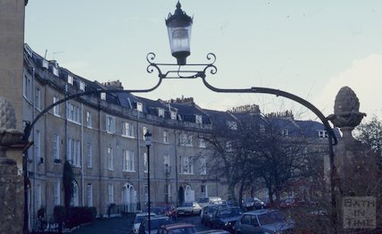 Widcombe Crescent, December 1994