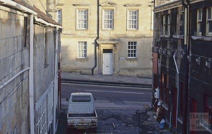 Stable Lane, Lansdown Mews, December 1994
