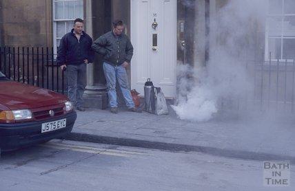 Filming, Circus, January 1995