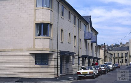 New houses in Milk Street, Bath May 1996