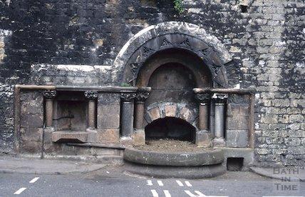 Horse trough, Walcot Street, June 1996