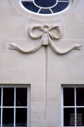Stonework detail, Cavendish Lodge, Cavendish Road, September 1996