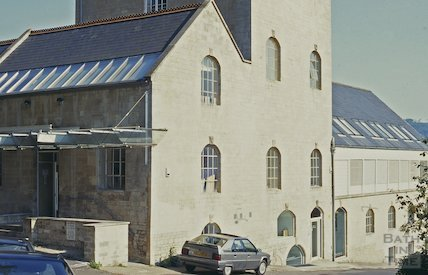 Converted Bath brewery, Batheaston, October 1996