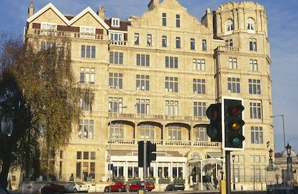 The newly cleaned Empire Hotel, January 1997