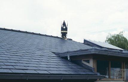 Roof, Widcombe School, June 1997