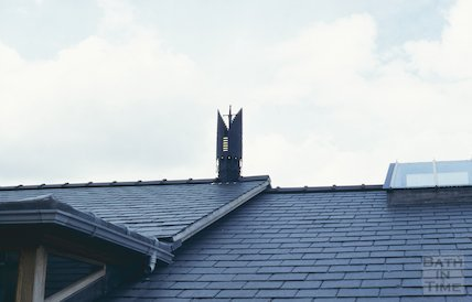 Roof, Widcombe School, June 1997