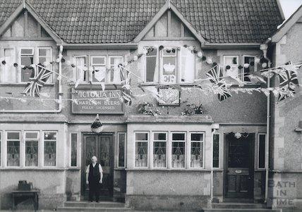 The Victoria Inn, Paulton, c.1953