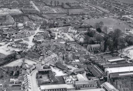 c.1971 Aerial view of Paulton