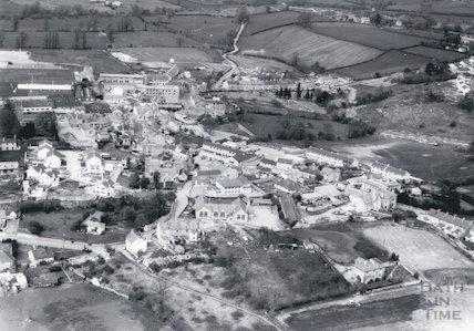 c.1938? Aerial view of Paulton